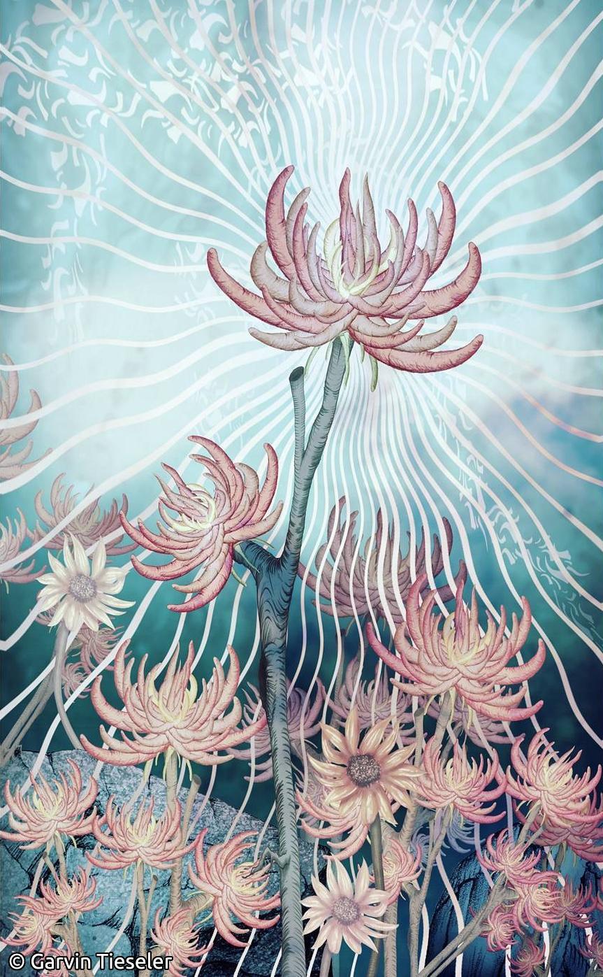 Garvin Tieseler Melancholy Flowers