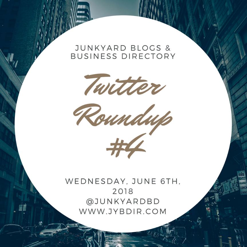 Twitter Roundup #4 Wednesday, June 6th,2018