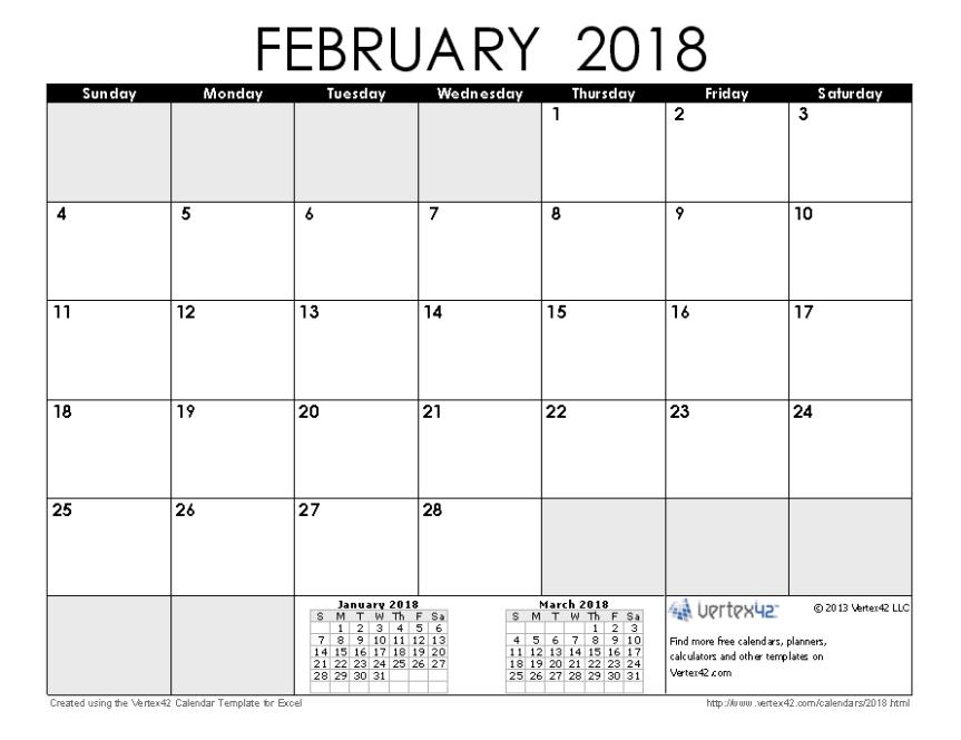2018 February