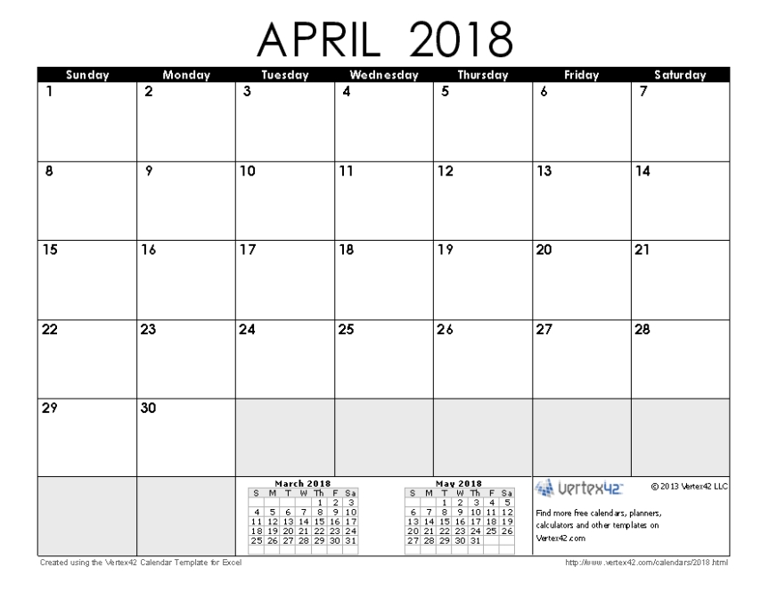 2018 April
