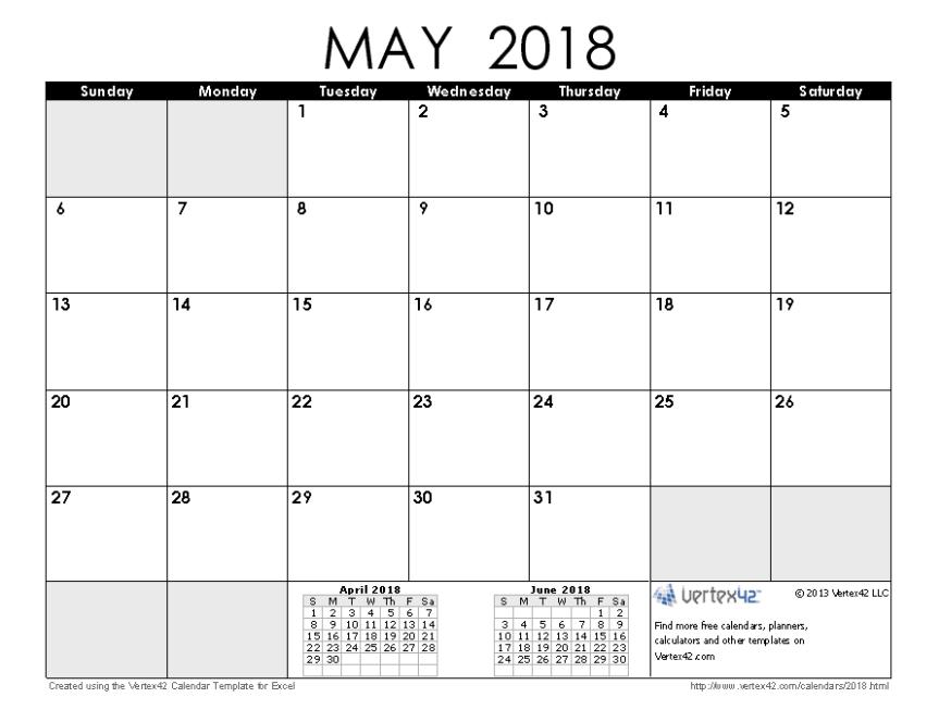 2018 May