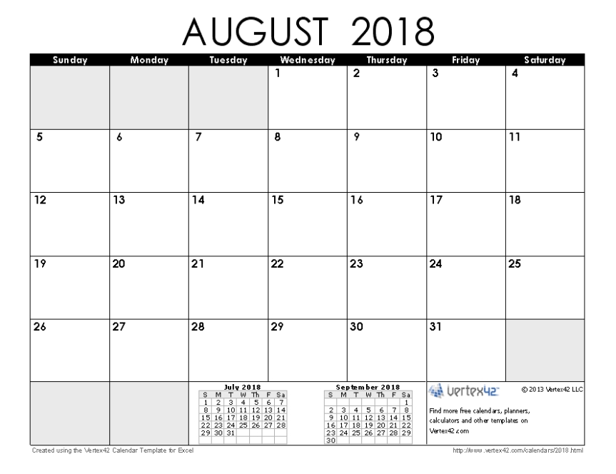2018 August