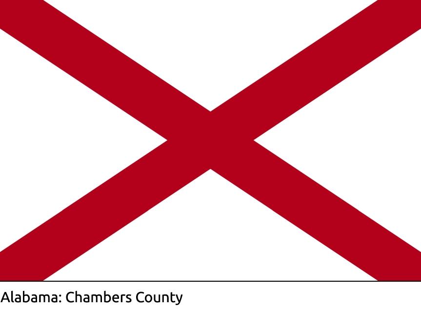 Chambers County Alabama