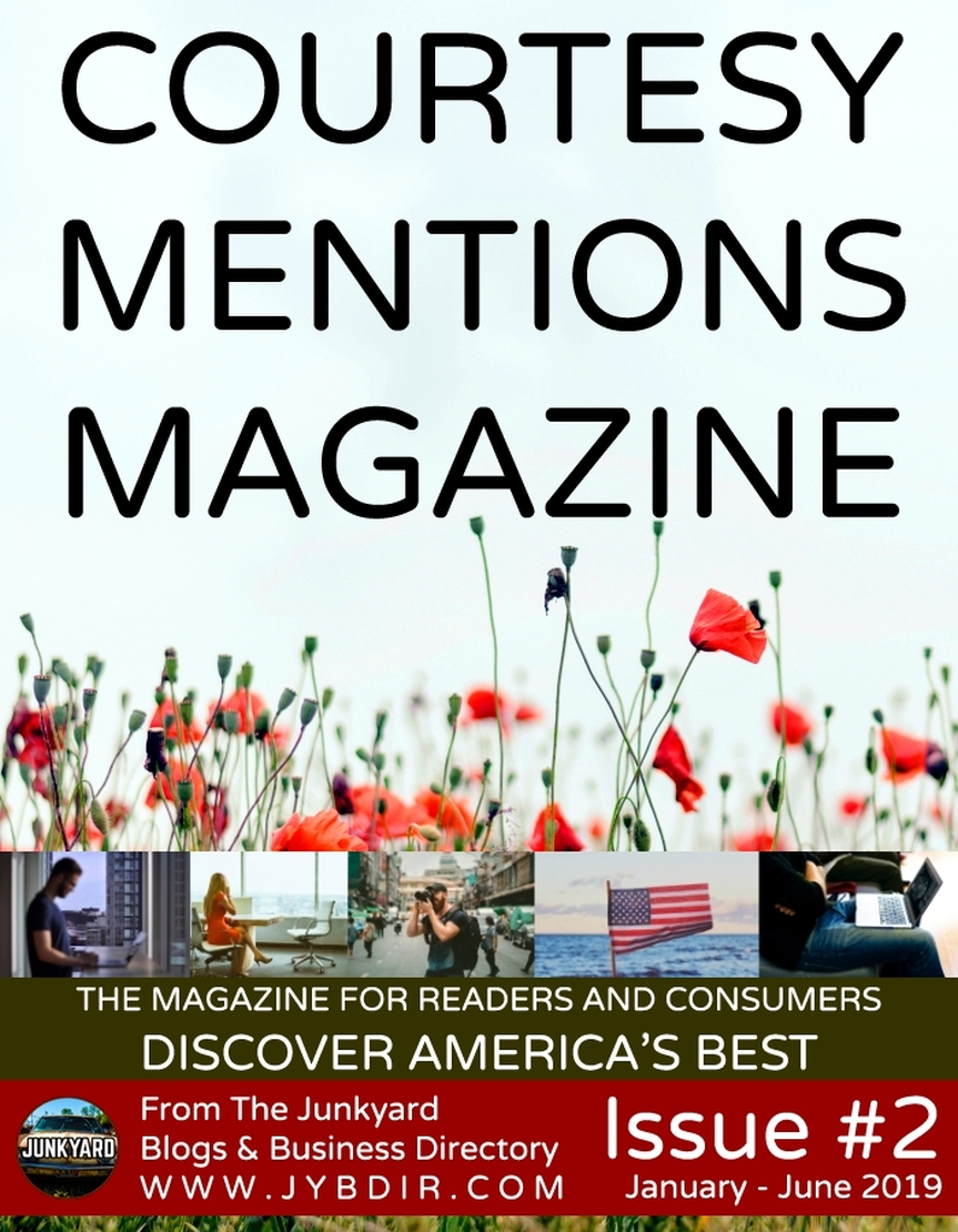 Courtesy Mentions Magazine Issue 2 Front Cover