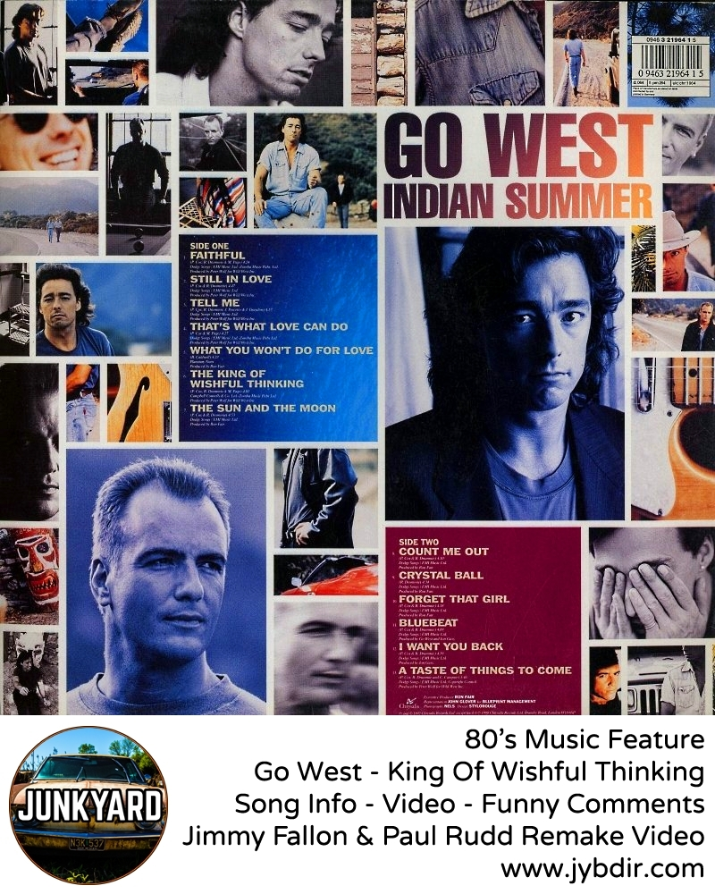 Go West – King Of Wishful Thinking