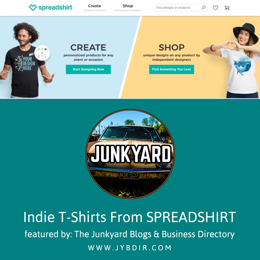 Awesome Indie Design Spreadshirt T-Shirts For Men
