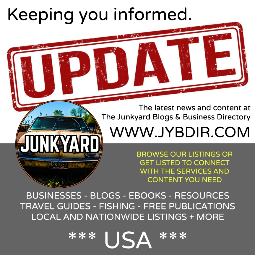 Latest News At The Junkyard As Of Tuesday, January 8th, 2019